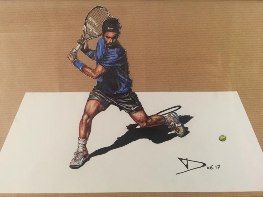 Rafael Nadal by Guiz